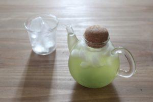 緑茶水出し