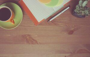 コーヒーとサボテン